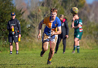Action from the Central North Island 1st XV college rugby match between St John's College (Hamilton) and Rathkeale College at St John's College in Hamilton, New Zealand on Saturday, 3 July 2021. Photo: Dave Lintott / lintottphoto.co.nz