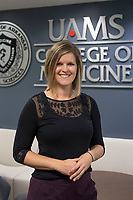 Lisa Smith, seen here Nov, 2, 2020, is the Executive Director of the Office of Community Health and Research at UAMS Northwest. (NWA Democrat-Gazette/J.T.WAMPLER)