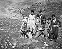 Iraq 1963 <br /> In  Betwata, left Anwar Beg Betwata Khoshnaw with? and children  <br /> Irak 1963 <br /> A Betwata, a gauche Anwar Beg Betwata Khoshnaw avec ? et des enfants