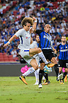 Chelsea Defender David Luiz (L) fights for the ball with FC Internazionale Defender Joao Miranda (R) during the International Champions Cup 2017 match between FC Internazionale and Chelsea FC on July 29, 2017 in Singapore. Photo by Marcio Rodrigo Machado / Power Sport Images
