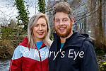 Enjoying a stroll in the Killarney National park on Friday, l to r: Chloe and Brian Gallagher.