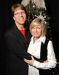 Mark Lanier and his wife Becky at the Lanier Law Firm's Holiday Bash Sunday Dec. 13,2009.(Dave Rossman/For the Chronicle)