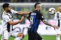Emre Can of Juventus , Radja Nainggolan of Internazionale <br /> Milano 27-04-2019 Stadio Giuseppe Meazza <br /> Football Serie A 2018/2019 FC Internazionale - Juventus FC <br /> photo Image Sport / Insidefoto
