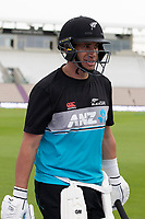 Ross Taylor, New Zealand, heads to the nets during a training session ahead of the ICC World Test Championship Final at the Hampshire  Bowl on 17th June 2021