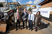 Work begins on the new Arnold health Centre, a partnership between NHS Nottinghamshire County and MedicX