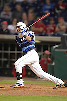 Seton Hall Pirates shortstop Guiseppe Papaccio #2 during a game against the Ohio State Buckeyes at the Big Ten/Big East Challenge at Florida Auto Exchange Stadium on February 18, 2012 in Dunedin, Florida.  (Mike Janes/Four Seam Images)