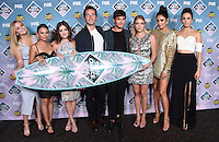 Pretty Little Liars cast @ the 2016 Teen choice awards held @ the Forum.<br /> July 31, 2016