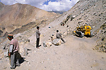 NH-22 crossing, Himachal Pradesh, India, August 2001.