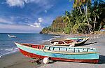 Karibik, Kleine Antillen, Grenada: Fischerboote an der Westkueste | Caribbean, Lesser Antilles, Grenada: Fishing Boats on West coast