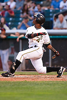 June 4, 2009:  Jean Segura of the Salt Lake Bees, Pacific Cost League Triple A affiliate of the Los Angeles (Anaheim) Angles, during a game at the Spring Mobile Ballpark in Salt Lake City, UT.  Photo by:  Matthew Sauk/Four Seam Images