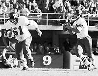 Bob O'bilovich Ottawa Rough Riders quarterback 1964. Copyright photograph Ted Grant