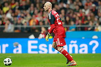 Argentina's Willy Caballero during international friendly match. March 27,2018.(ALTERPHOTOS/Acero) /NortePhoto.com NORTEPHOTOMEXICO