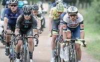 Taco van der Hoorn (NED/Intermarché - Wanty - Gobert Matériaux)<br /> <br /> Antwerp Port Epic / Sels Trophy 2021 (BEL)<br /> One day race from Antwerp to Antwerp (183km)<br /> <br /> The APC stands qualified as a 'road race', but with 36km of gravel and 28km of cobbled sections in and around the Port of Antwerp (BEL) this race occupies a unique spot in the Belgian race scene.<br /> <br /> ©kramon