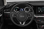 Car pictures of steering wheel view of a 2020 KIA Niro More 5 Door Hatchback Steering Wheel