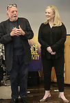 Hal Prince and Susan Stroman attend the Meet & Greet for the Manhattan Theatre Club's Broadway Premiere of 'Prince of Broadway' at the MTC Studios on July 20, 2017 in New York City.