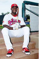 Lowell Spinners first baseman Josh Ockimey(44) poses for a photo prior to a game versus the Auburn Doubledays at Lelacheur Park on July 25, 2015 in Lowell, Massachusetts. (Ken Babbitt/Four Seam Images)