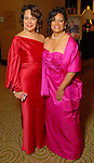 Honorees Rosi Hernendez and Cheryl Moore McNair at the Winter Ball held at the Hilton Americas Houston Saturday Jan. 10, 2009.(Dave Rossman/For the Chronicle)