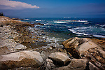 Maine's rocky coast -  Schoodic Peninsula, Acadia National Park, Downeast ME, USA