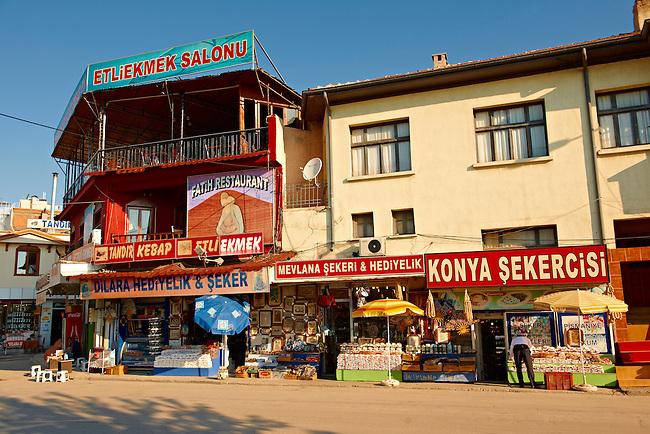 Shops in the Bazaar of Konya, Anatolia, Turkey