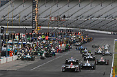 Verizon IndyCar Series<br /> Rainguard Water Sealers 600<br /> Texas Motor Speedway, Ft. Worth, TX USA<br /> Saturday 10 June 2017<br /> Marco Andretti, Andretti Autosport with Yarrow Honda, Max Chilton, Chip Ganassi Racing Teams Honda, Graham Rahal, Rahal Letterman Lanigan Racing Honda pit stop<br /> World Copyright: Scott R LePage<br /> LAT Images<br /> ref: Digital Image lepage-170610-TMS-5559