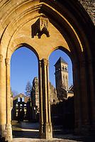 Europe/Belgique/Wallonie/Province du Luxembourg/Orval : Les ruines l'Abbaye fondée en 1070
