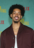 LOS ANGELES, CA - OCTOBER 13: Melvin Gregg, at the Special Screening Of The Harder They Fall at The Shrine in Los Angeles, California on October 13, 2021. Credit: Faye Sadou/MediaPunch