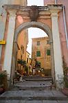 Italian Hill Towns, Marciana, Northwest Coast Elba, Elba; Province of Livorno; Italy, Mediterranean Sea;