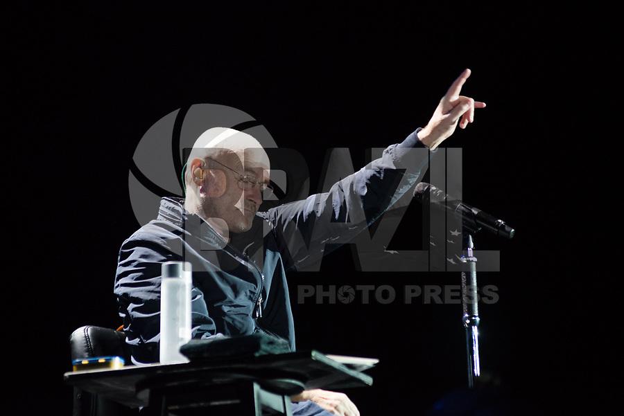 PORTO ALEGRE, RS, 27.02.2018 – SHOW-RS – Músico britânico Phil Collins durante turnê solo no Estádio Beira na cidade de Porto Alegre, no Rio Grande do Sul nesta terça-feira. (Foto: Rodrigo Ziebell/Brazil Photo Press)