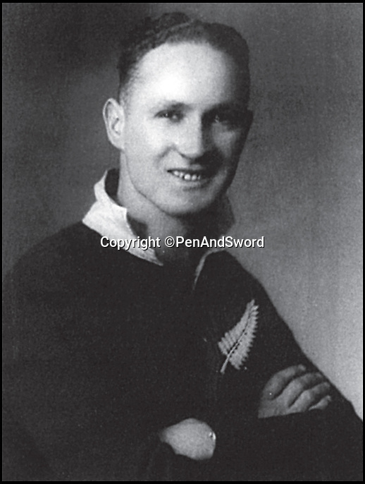 BNPS.co.uk (01202) 558833Pic: PenAndSword/BNPS<br /> <br /> Donald Cobden.<br /> <br /> The tragic stories of the 90 international rugby players who gave their lives in the Second World War have been told in a poignant new book.<br /> <br /> These days elite rugby players go to war on the pitch, putting their bodies through hell to secure victory, but these heroic ex-internationals went to war for real - for a far greater purpose - never to return. <br /> <br /> Included in their ranks was the grandfather of actor Rory Kinnear, a Russian prince who scored one of England's greatest tries and Scottish international Eric Liddell whose exploits on the track were immortalised in the 1981 Oscar-winning film Chariots of Fire.<br /> <br /> Historian and screenwriter Nigel McCrery, who created the BBC TV series' Silent Witness and New Tricks, has meticulously researched the lives of all these fallen heroes.