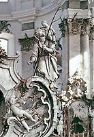 Detail: 14 Saints by Balthasar Neumann in the Church of Vierzehnhelligen, Bamberg, Germany.