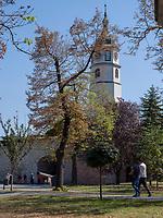 Uhrturm, Festung Kalemegdan, Belgrad, Serbien, Europa<br /> clocktower in the fortress Kalemegdan,  Belgrade, Serbia, Europe