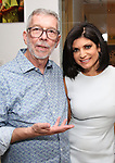Sam Rudy and Tamsen Fadal attend the Retirement Celebration for Sam Rudy at Rosie's Theater Kids on July 17, 2019 in New York City.