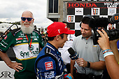 Takuma Sato, Rahal Letterman Lanigan Racing Honda, David Letterman