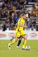 26 SEPTEMBAR 2009: #9 Jovan Kirovski of the LA Galaxy and #10 Alejandro Moreno, Columbus Crew forward  during the Los Angeles Galaxy at Columbus Crew MLS game in Columbus, Ohio on May 27, 2009.