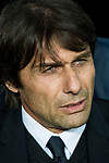 Head coach Antonio Conte of Chelsea FC prior to the UEFA Champions League 2017-18 Round of 16 (2nd leg) match between FC Barcelona and Chelsea FC at Camp Nou on 14 March 2018 in Barcelona, Spain. Photo by Vicens Gimenez / Power Sport Images