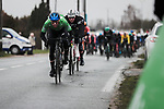 Giacomo Nizzolo (ITA) NTT Pro Cycling Team wearing the Green Jersey during Stage 3 of the 78th edition of Paris-Nice 2020, running 212.5km from Chalette-sur-Loing to La Chatre, France. 10th March 2020.<br /> Picture: ASO/Fabien Boukla   Cyclefile<br /> All photos usage must carry mandatory copyright credit (© Cyclefile   ASO/Fabien Boukla)