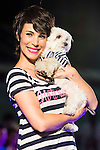 Nerea Garmendia and his Dog during the fashion show By Nerea Garmendia of his 2nd Anniversay at COAM in Madrid. June 06. 2016. (ALTERPHOTOS/Borja B.Hojas)