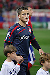 Olympiacos´s Afellay during Champions League soccer match between Atletico de Madrid and Olympiacos at Vicente Calderon stadium in Madrid, Spain. November 26, 2014. (ALTERPHOTOS/Victor Blanco)