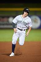 Peoria Javelinas Tyler O'Neill (11), of the Seattle Mariners organization, during a game against the Glendale Desert Dogs on October 18, 2016 at Peoria Stadium in Peoria, Arizona.  Peoria defeated Glendale 6-3.  (Mike Janes/Four Seam Images)