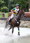 11 July 2009: Megan Lanzarone riding The Grasshopper during the cross country phase of the CIC 2* Maui Jim Horse Trials at Lamplight Equestrian Center in Wayne, Illinois.