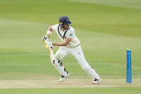 Max Holden, Middlesex CCC guides to third man for two runs during Middlesex CCC vs Gloucestershire CCC, LV Insurance County Championship Group 2 Cricket at Lord's Cricket Ground on 7th May 2021