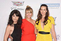 BRENTWOOD, CA - JUNE 11: (L-R) Actresses Selma Blair, Rebecca Gayheart-Dane, Liz Carey arrives at the 15th Annual Chrysalis Butterfly Ball at a private residence on June 11, 2016 in Brentwood, California.
