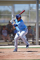 Tampa Bay Rays Carlos Vargas (95) during a Minor League Spring Training game against the Minnesota Twins on March 17, 2018 at CenturyLink Sports Complex in Fort Myers, Florida.  (Mike Janes/Four Seam Images)