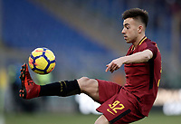 Calcio, Serie A: AS Roma - Sassuolo, Roma, stadio Olimpico, 30 dicembre 2017.<br /> Roma's Stephan El Shaarawy in action during the Italian Serie A football match between AS Roma and Sassuolo at Rome's Olympic stadium, 30 December 2017.<br /> UPDATE IMAGES PRESS/Isabella Bonotto