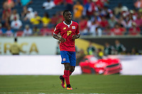 Orlando, Florida - Saturday, June 04, 2016: Costa Rican midfielder Joel Campbell (12) jogs off the field to be substituted during a Group A Copa America Centenario match between Costa Rica and Paraguay at Camping World Stadium.