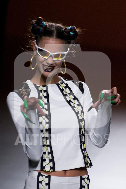 04.09.2012. Models walk the runway in the Maria Ke Fisherman fashion show during the EGO Mercedes-Benz Fashion Week Madrid Spring/Summer 2013 at Ifema. (Alterphotos/Marta Gonzalez)