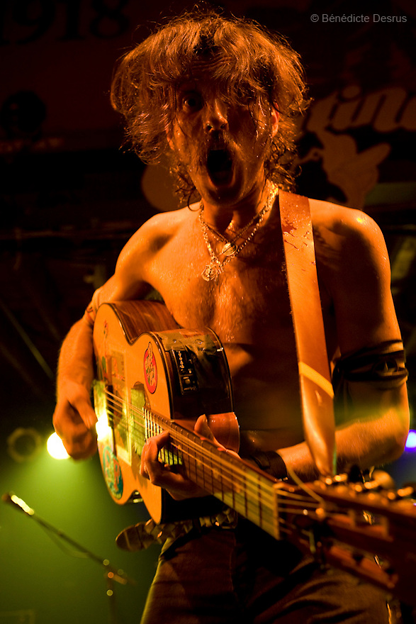 October 20, 2007 - New Orleans, United States - Gogol Bordello at Tipitina's in New Orleans. Gogol Bordello is a multi-ethnic Gypsy punk band from the Lower East Side of New York City.