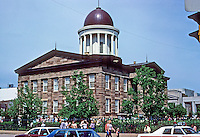Springfield: Old State Capitol, 1837. Photo '78.