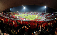 Total General Overview stadium Rajko Mitic, Marakana during UEFA Champions Legaue football match between Crvena Zvezda and PSG Paris Saint Germain in Belgrade, Serbia on December 11. 2018. (credit image & photo: STARSPORT/ Pedja Milosavljevic)