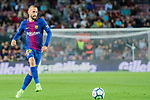 Aleix Vidal of FC Barcelona in action during the La Liga 2017-18 match between FC Barcelona and SD Eibar at Camp Nou on 19 September 2017 in Barcelona, Spain. Photo by Vicens Gimenez / Power Sport Images